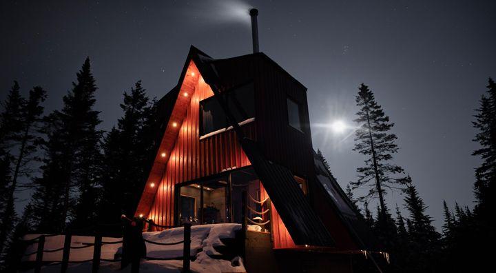 La Cabin Ride and Sleep