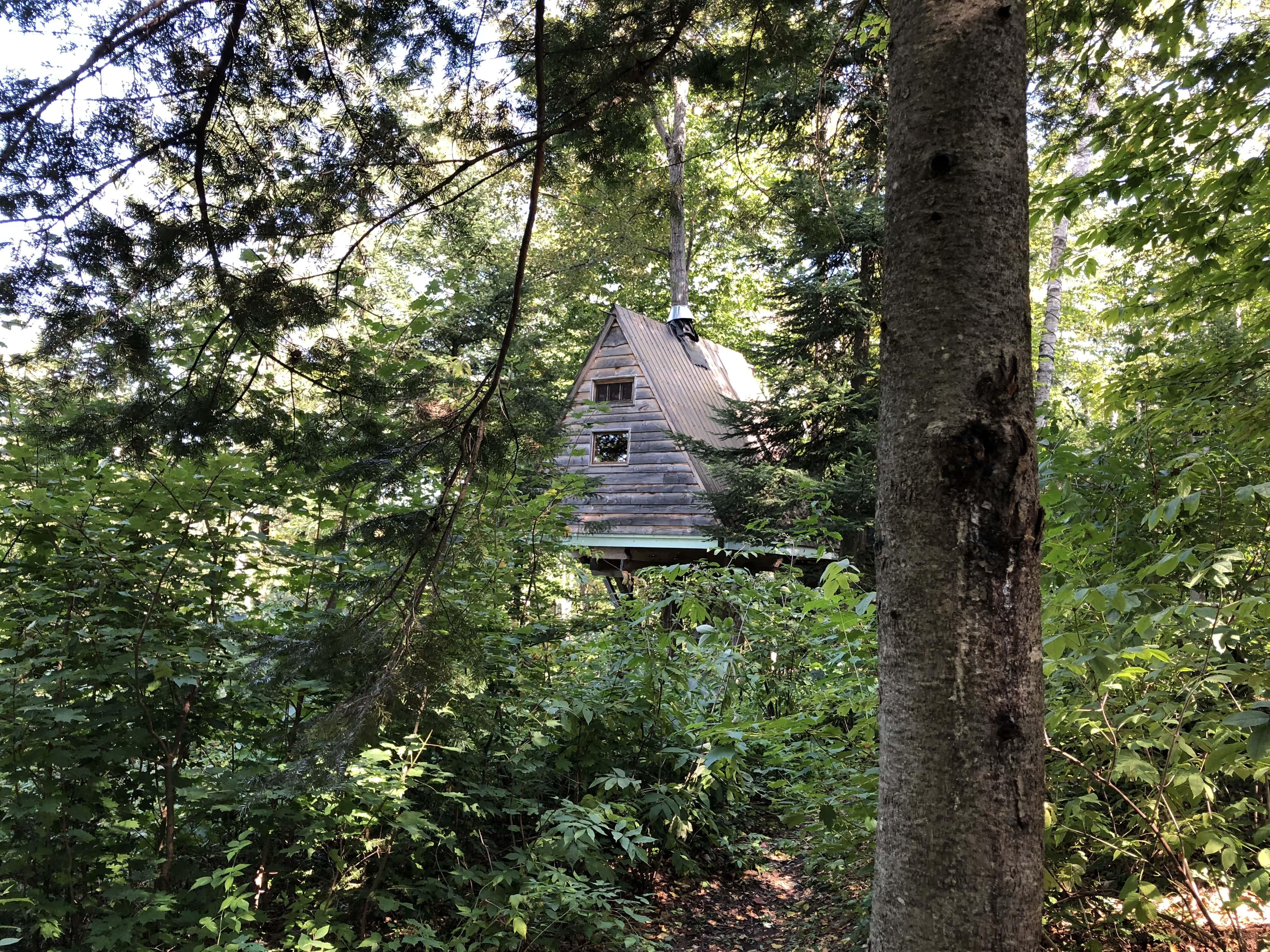 Chimo Refuges - dormir dans les arbres
