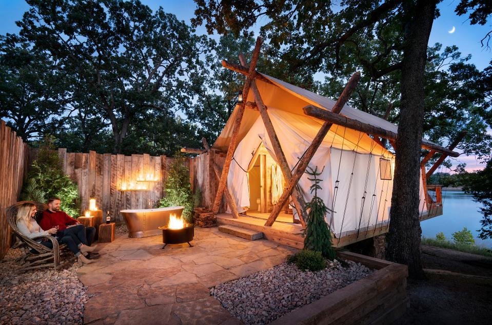 The History of Glamping