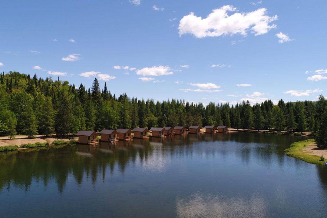 Camping-du-Domaine-Lausanne-Québec-Laurentides-Sainte-Agathe-Des-Monts