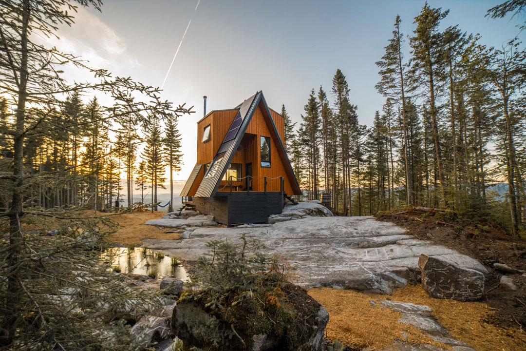 La-Cabin-Ride-and-Sleep-Québec-Capitale-Nationale-Lac-Beauport