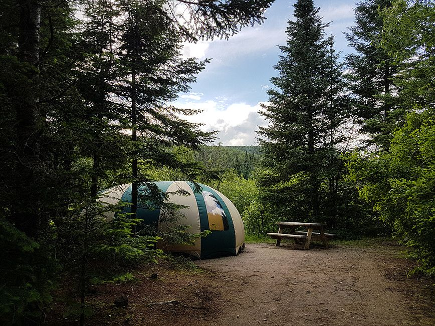 Cosy Bubble (dôme) du camping du Domaine Lausanne