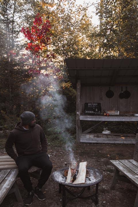 ecogite terra Perma Harrington a louer, Laurentides, Québec