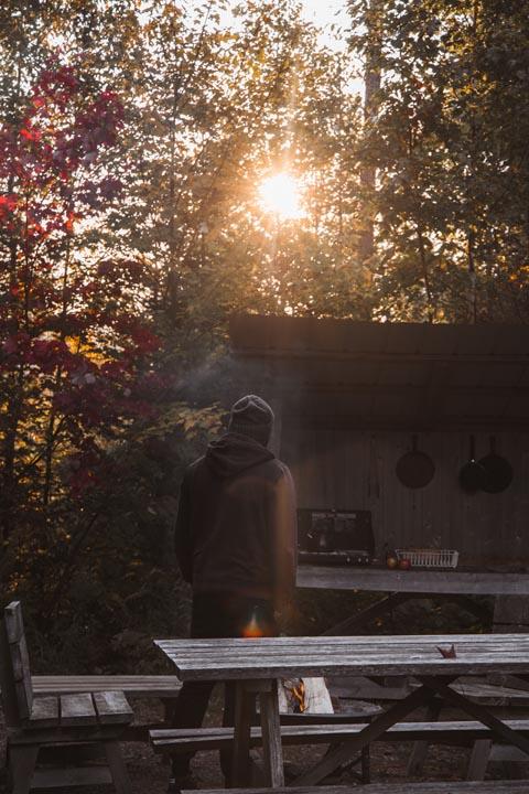 louer ecogite terra Perma Harrington, Laurentides, Québec
