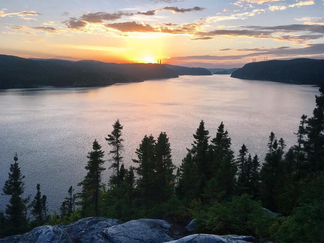 Vue du Fjord au Saguenay - Glamping au Québec