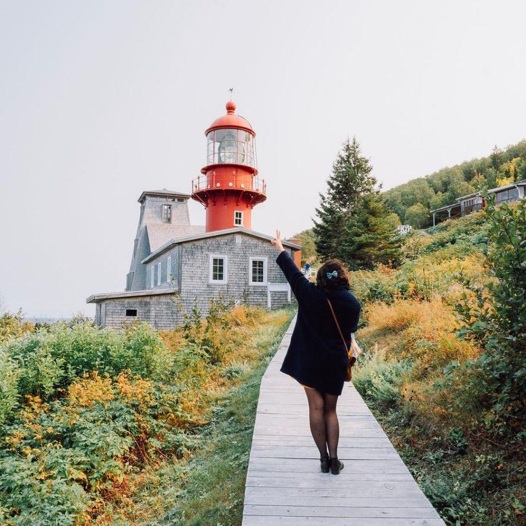 Le site de la Pointe à la renommée - Gaspésie