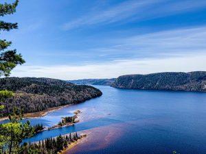 Paysage du Lac Mékinak