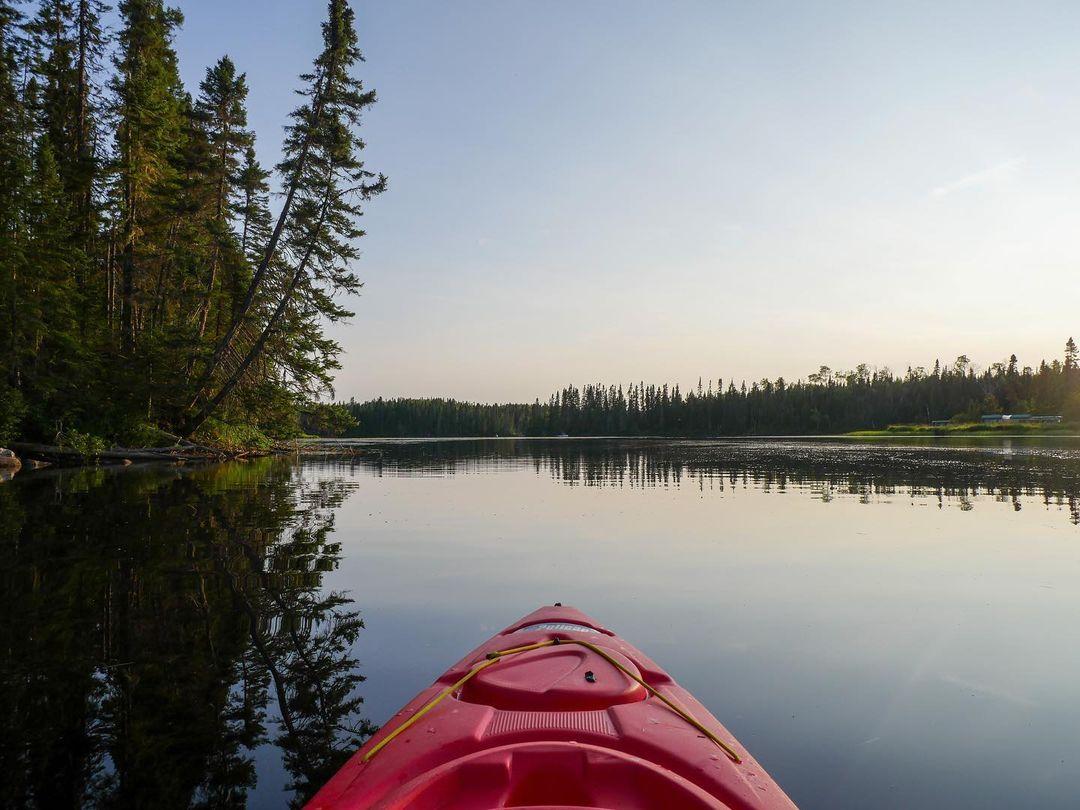 Kayak en Mauricie - Lac Edouard