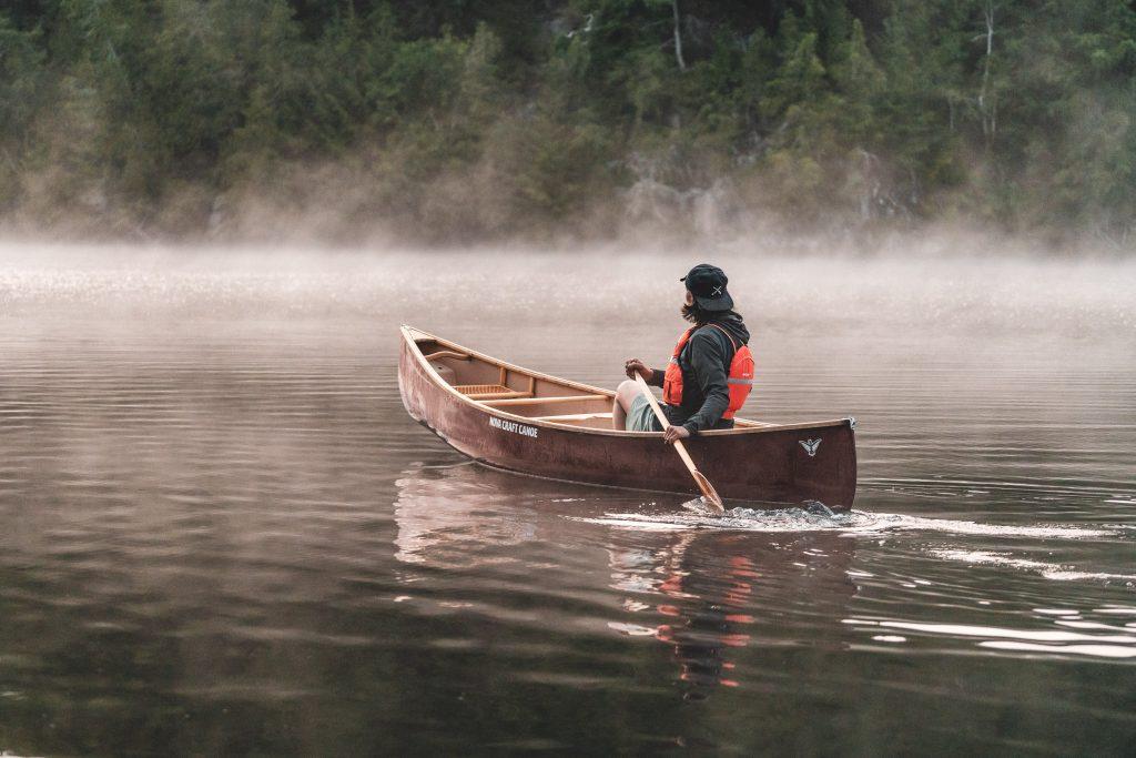 Activités nautiques chez Kenauk Nature en Outaouais
