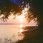 Coucher de soleil à Aylmer à Gatineau en Outaouais