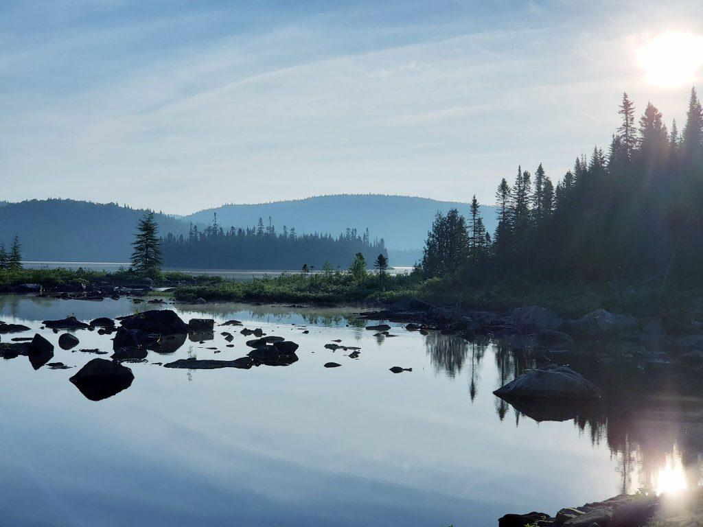 Pêche à la Zec de la Rivière-Blanche près de Portneuf