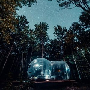 dome bulle charlevoix quebec